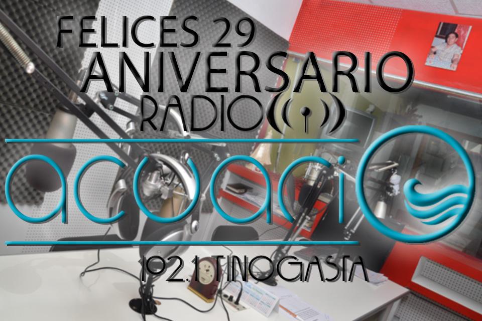 Aniversario 29 FM ACUARIO